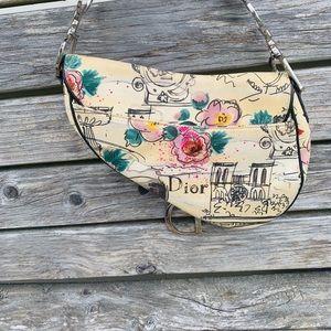 Dior Bags - Limited edition Christian Dior Vintage saddle bag